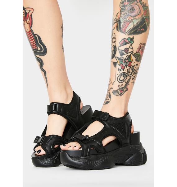 Current Mood Stellar Influence Platform Sandals