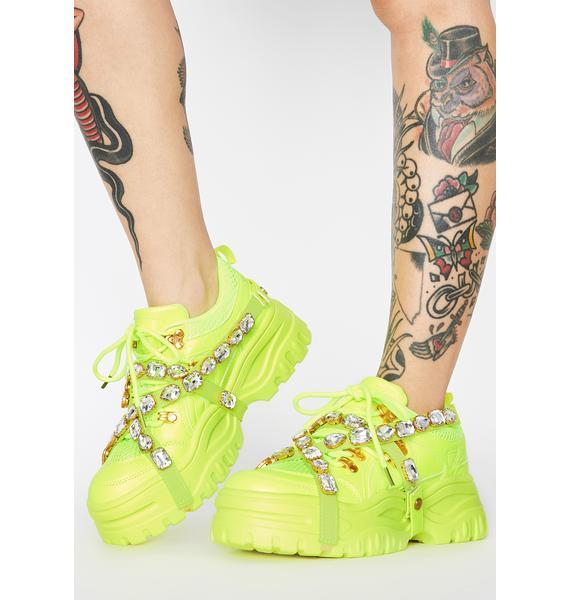 Atomic Stackin' Dough Platform Sneakers