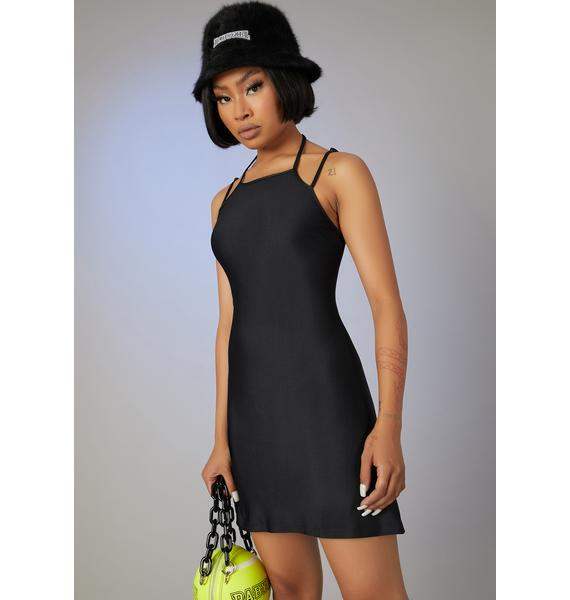 Poster Grl Off Duty Model Mini Dress