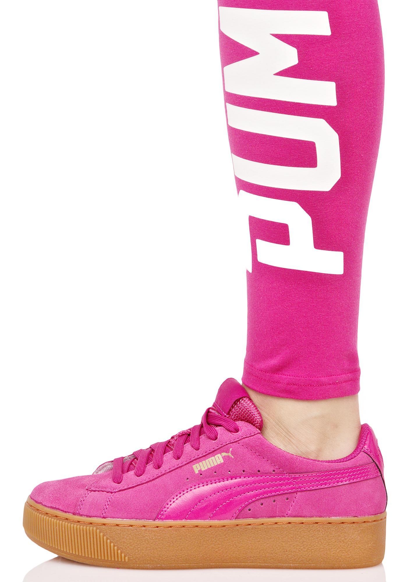 PUMA Vikky Platform Sneakers