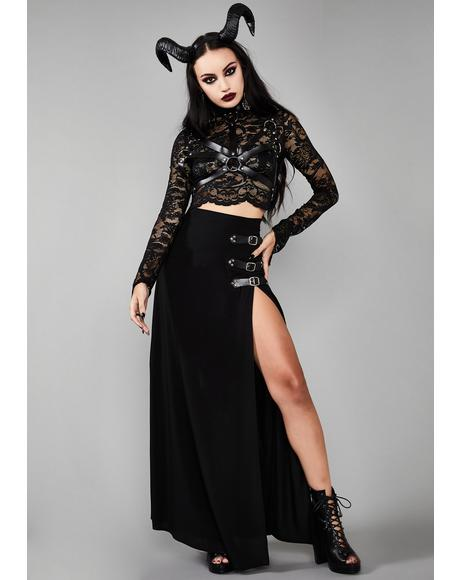 Twilight Doom Maxi Skirt