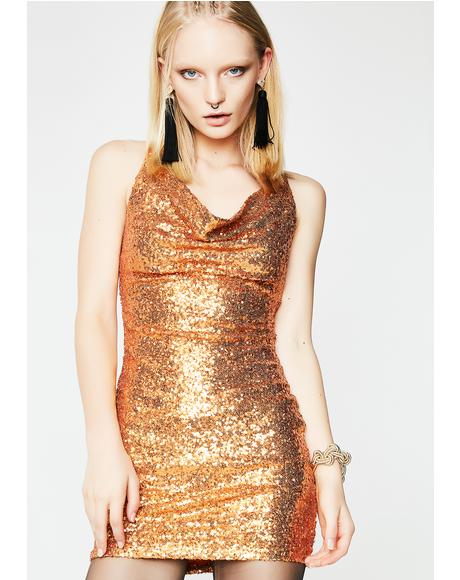 Spendin' Coins Mini Dress