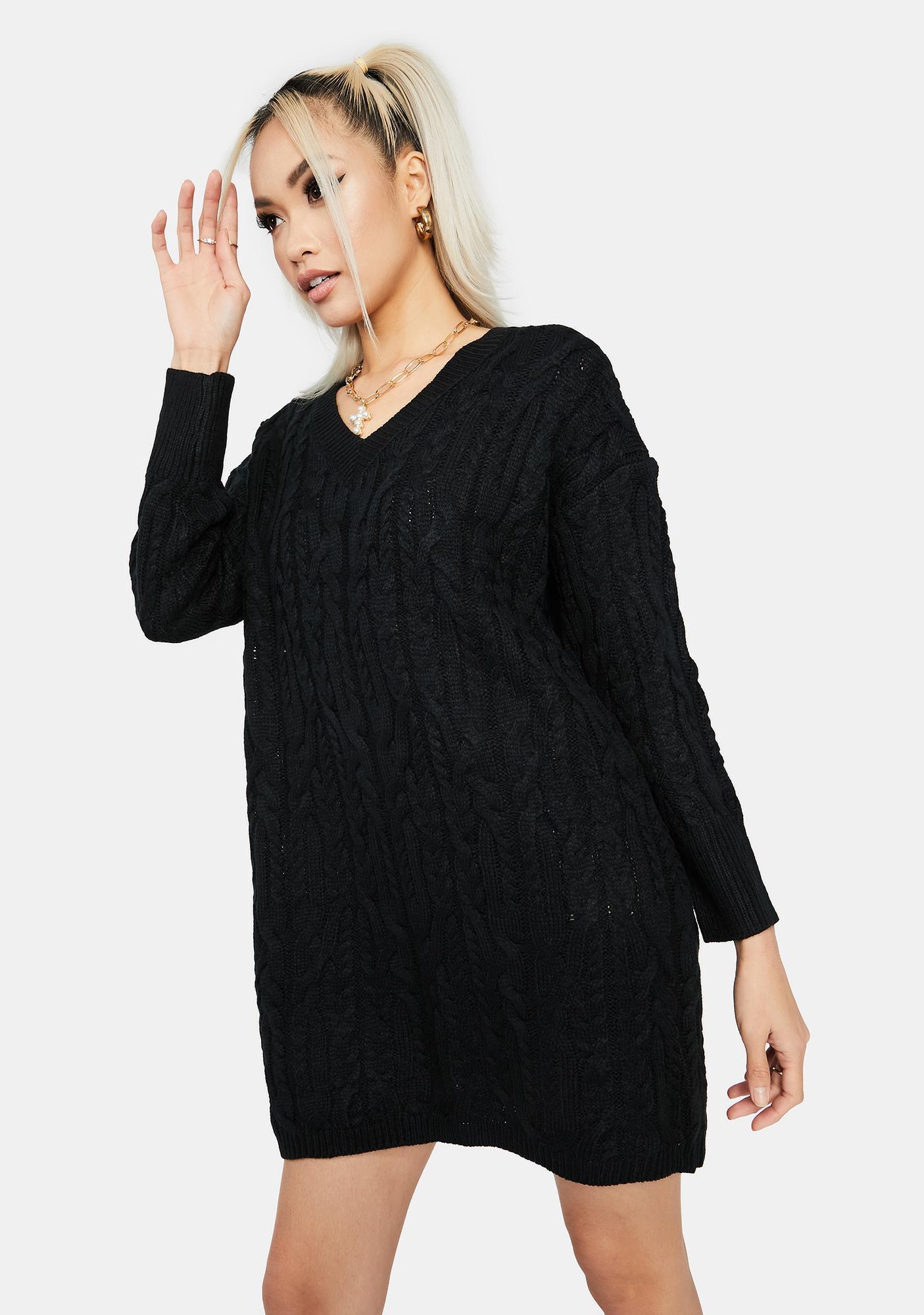 Cuddle Weather Sweater Dress