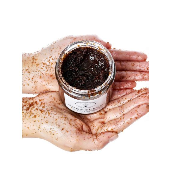 Birchrose + Co Coffee + Peppermint Body Scrub