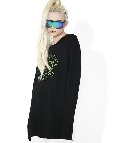 Surf is Dead Far Out Long Sleeve Tee