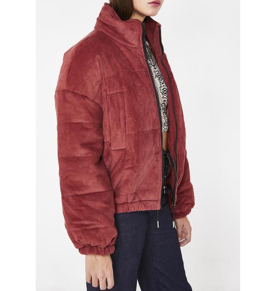 No Budget Puffer Jacket