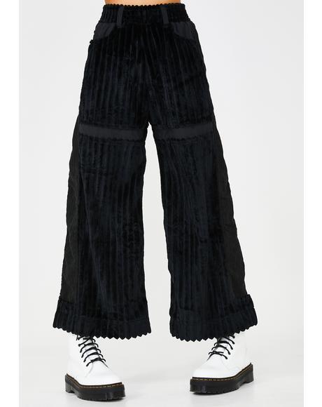 Jumbo Corduroy Wide Leg Pants