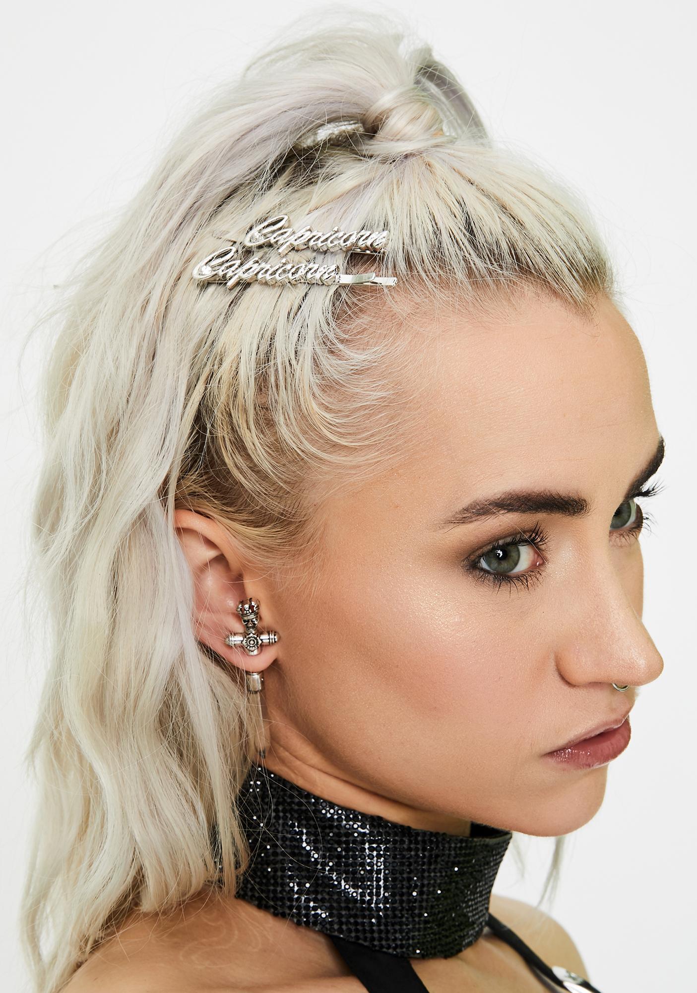 So Capricorn Hair Pins