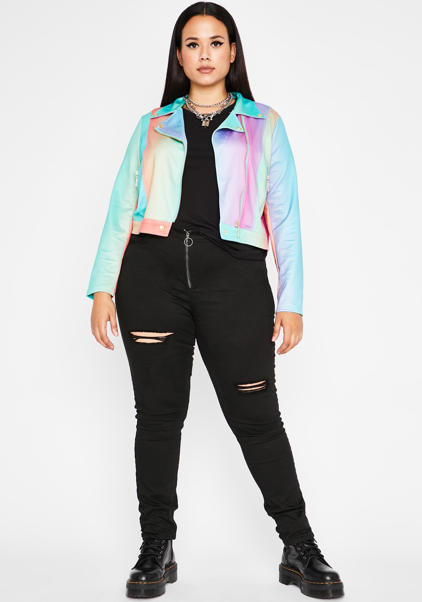 Funky Mz Rich Grl Moto Jacket