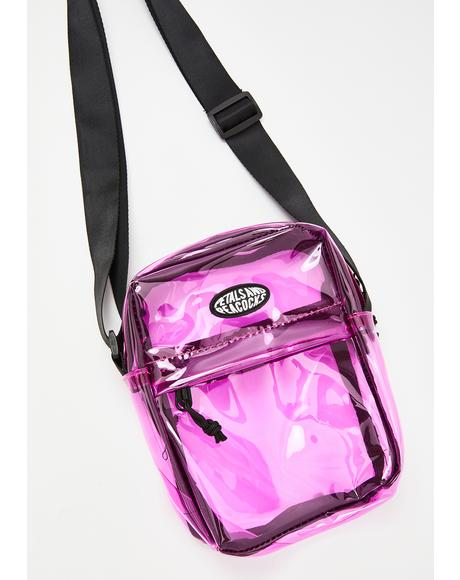 Candy Iridescent Shoulder Bag