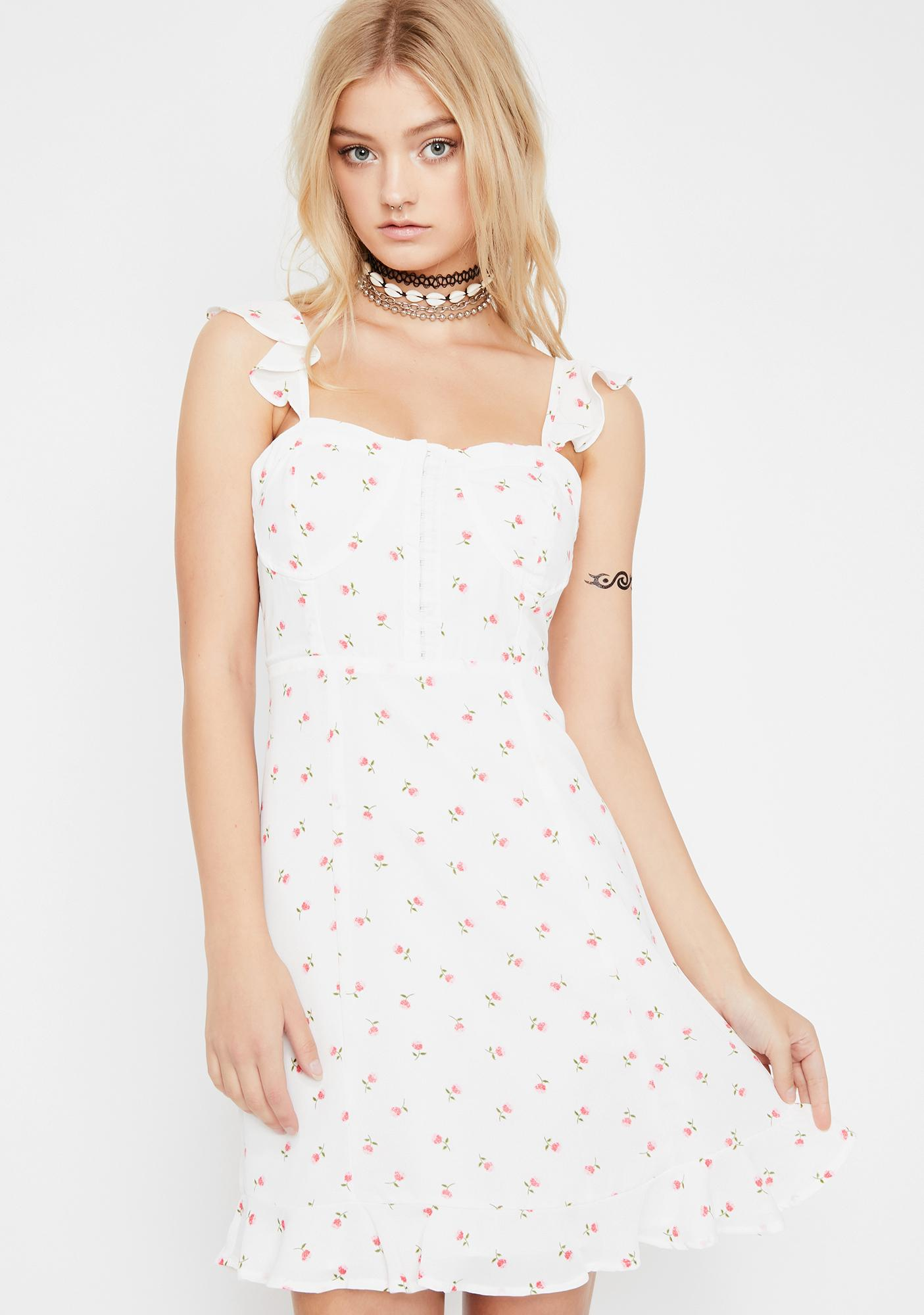 Pure Fresh Faced Cutie Floral Dress