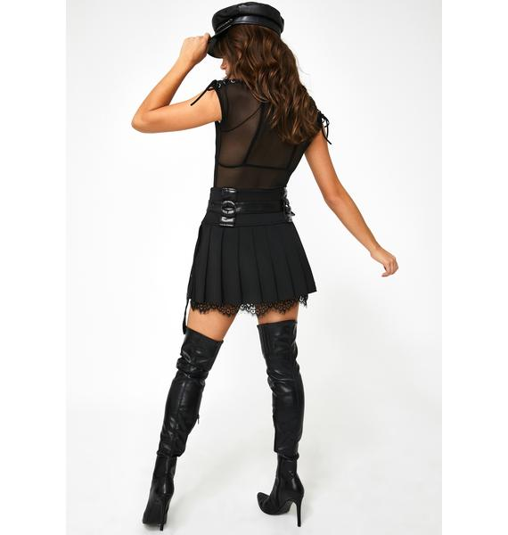 Kiki Riki Ohh Behave Pleated Skirt