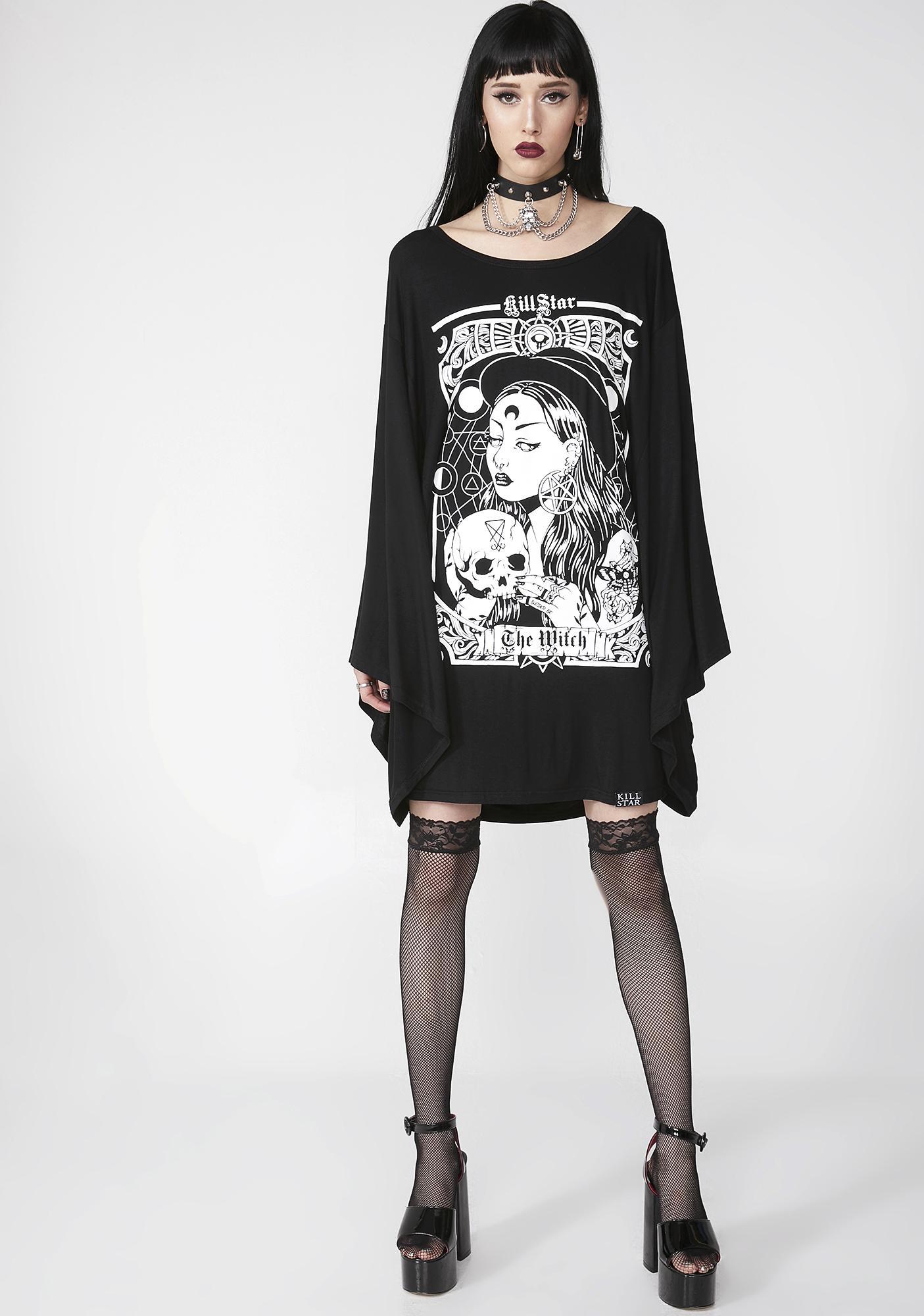 Killstar The Witch Kimono Tunic