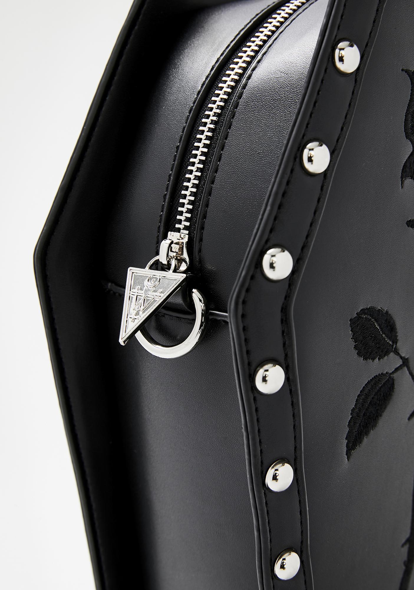 Widow Rose Resurrection Coffin Backpack