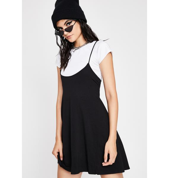Let Them Eat Cake Suspender Dress