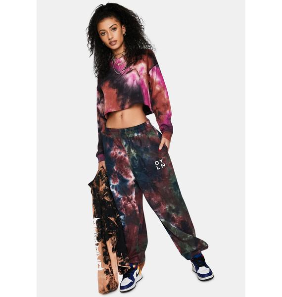Berry Natural Trendsetter Tie Dye Sweatshirt