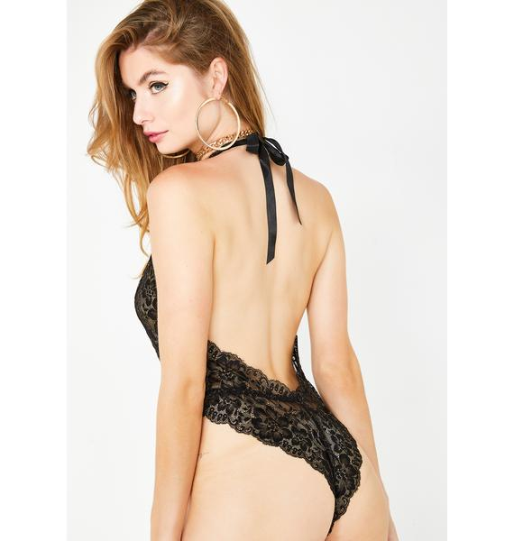 Kiss Of Desire Lace Teddy