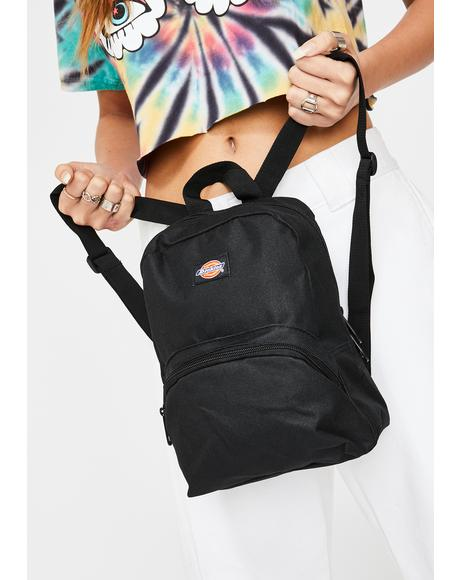 Black Mini Backpack