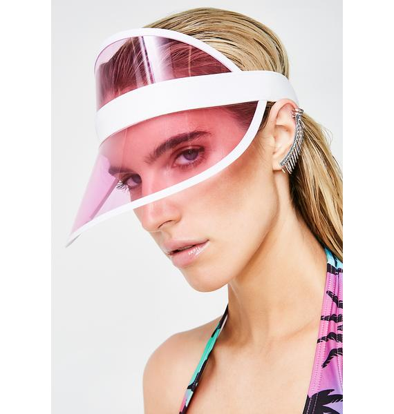 Bubblegum Throw Shade Visor