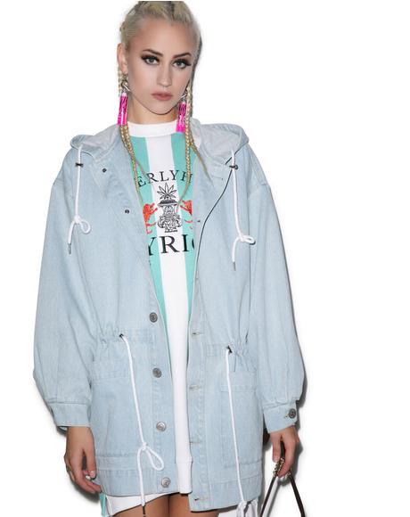 High Beverly Hills Denim Coat