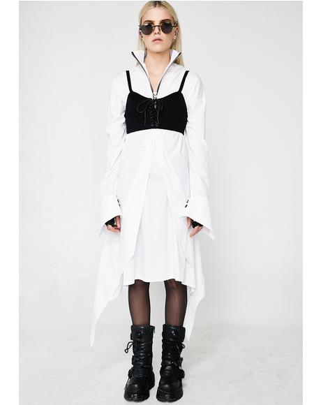 Gothic Shirt Dress
