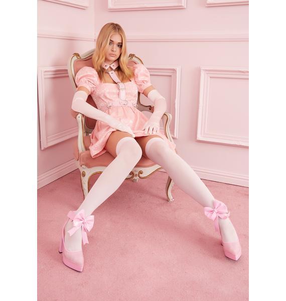 Sugar Thrillz Elegant Obsession Babydoll Dress