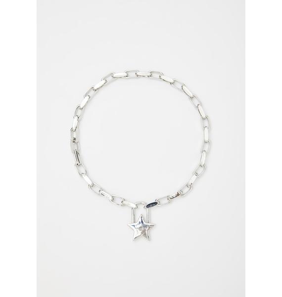 Stellar Lock Up Chain Necklace
