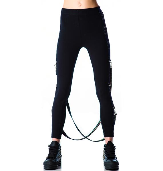 Lip Service Courtney Suspender Bondage Leggings