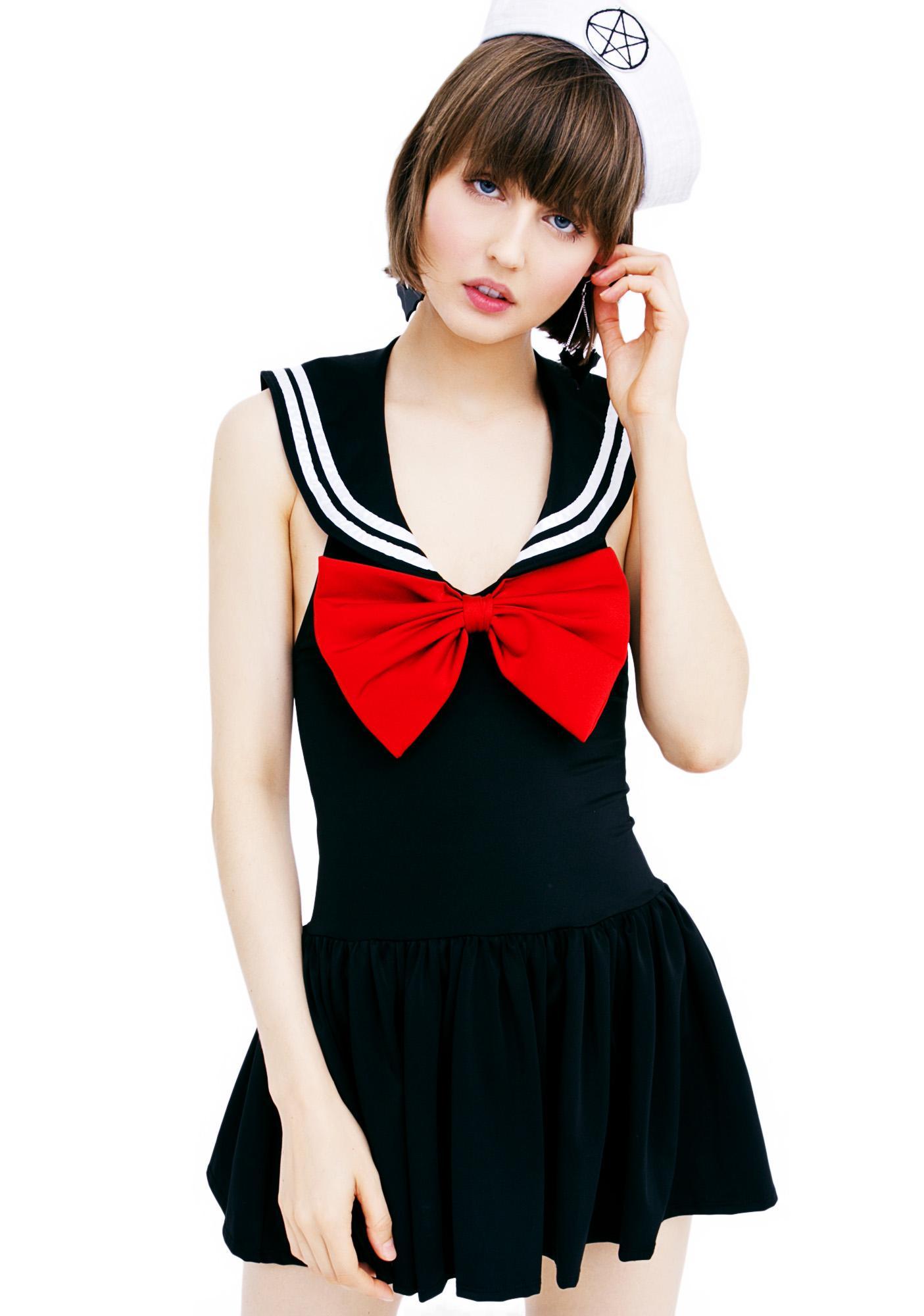 Dolls Kill Dead Sea Sailor Costume Set