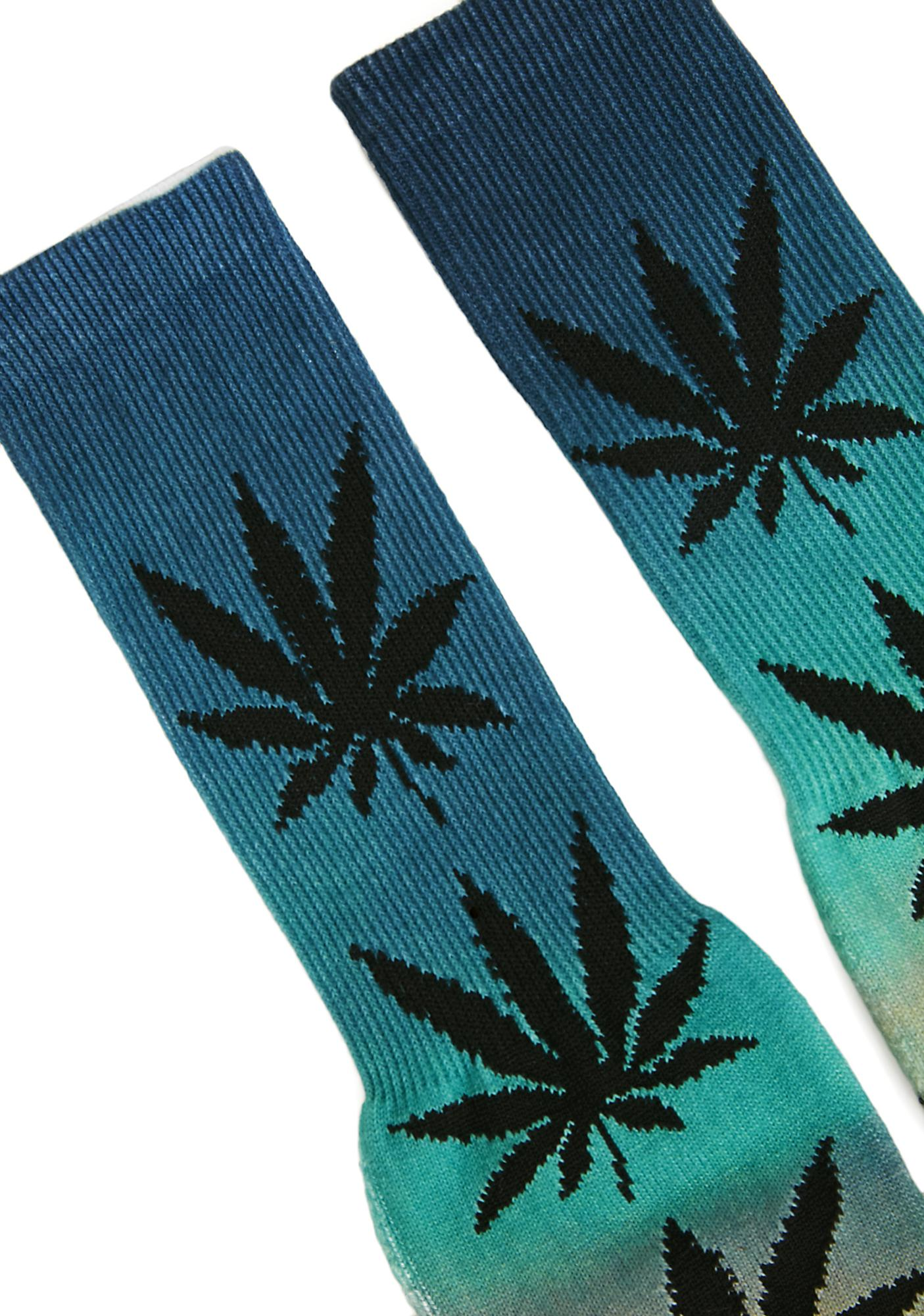 HUF Outdoors Digital Plantlife Crew Socks