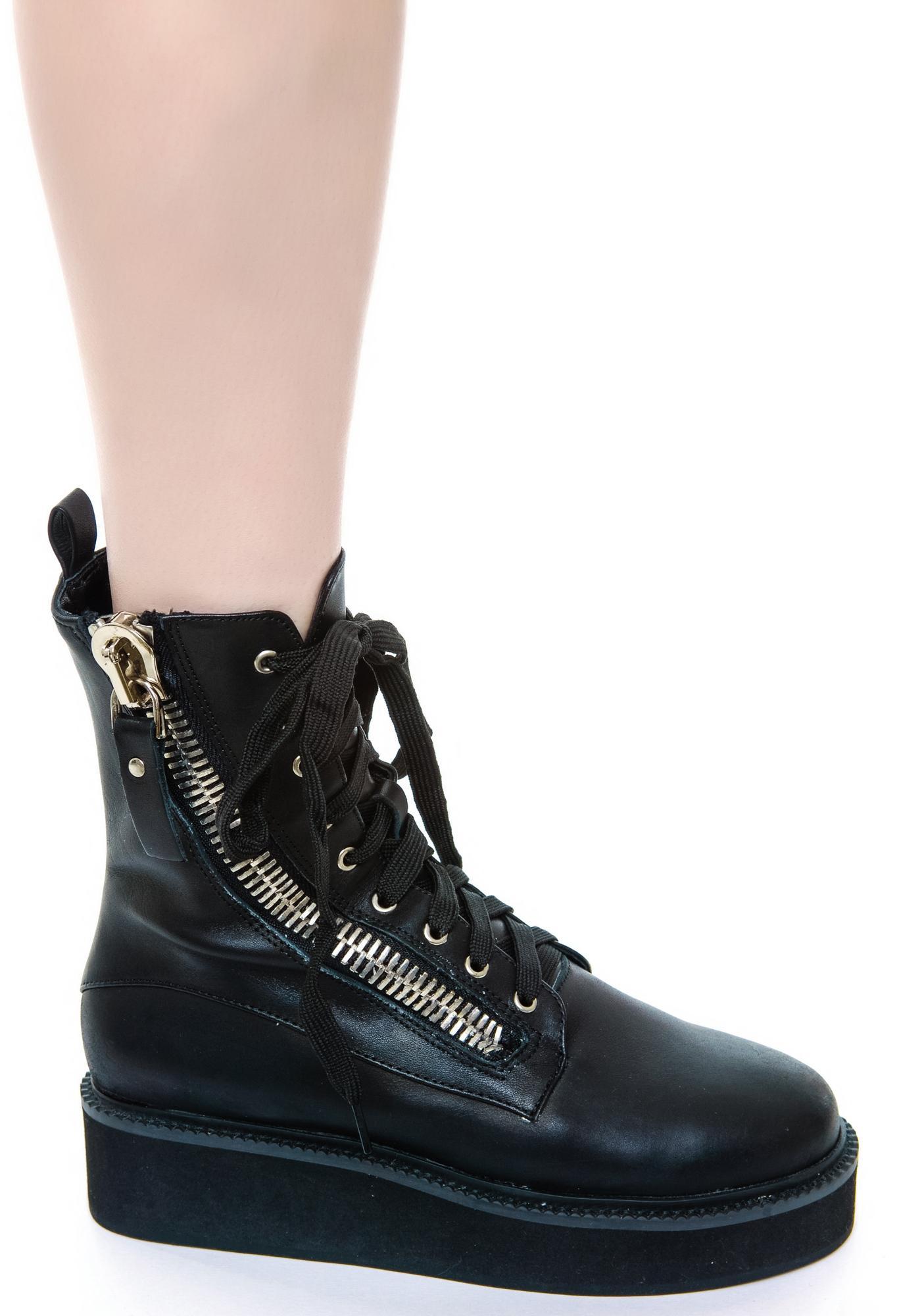 unif trench boot dolls kill