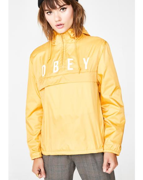 Mellow Anyway Anorak Coach Jacket