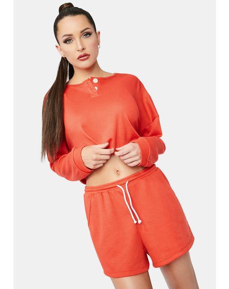 Tangerine Long Weekend Shorts