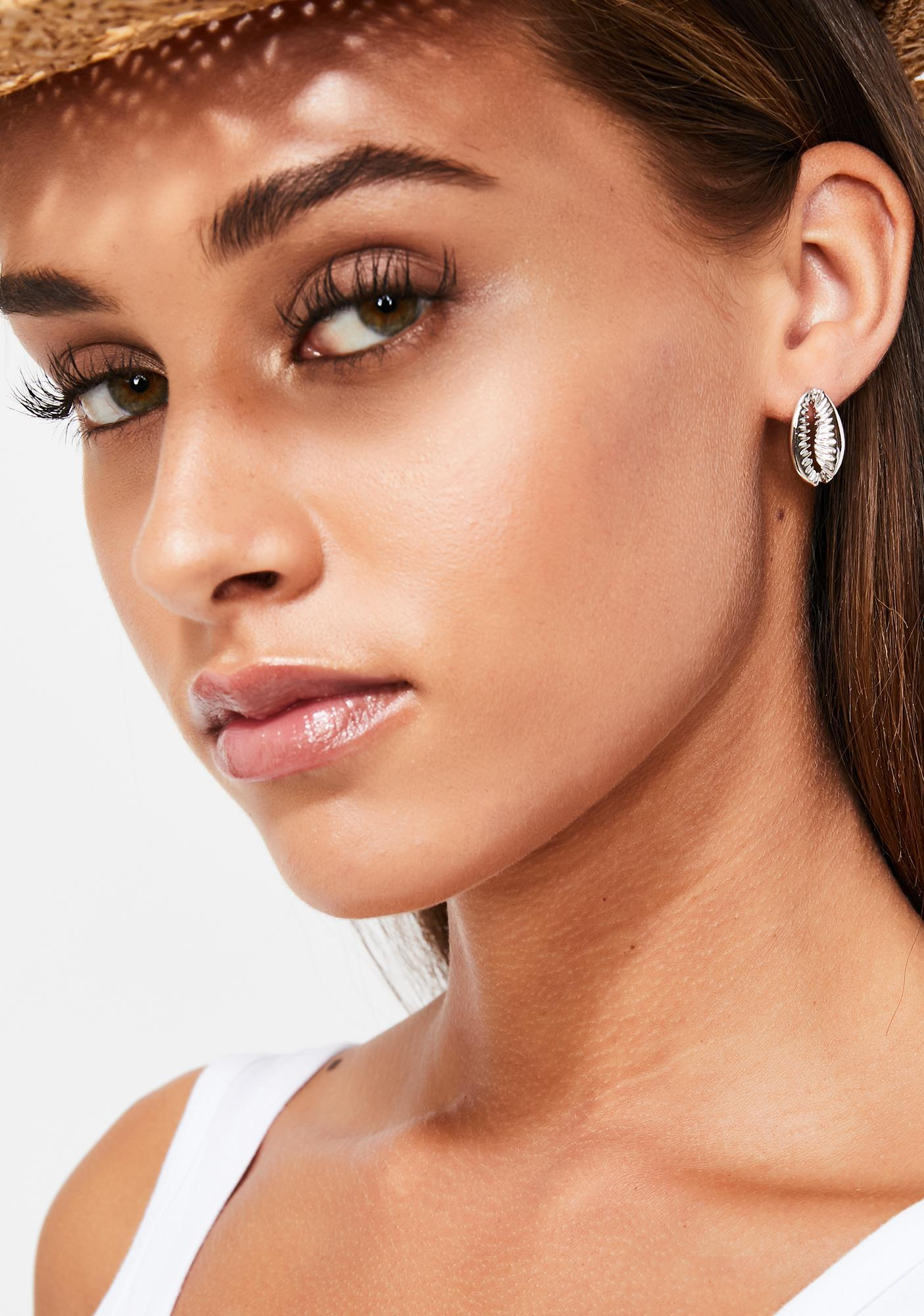 Mer-Bae Shell Earrings