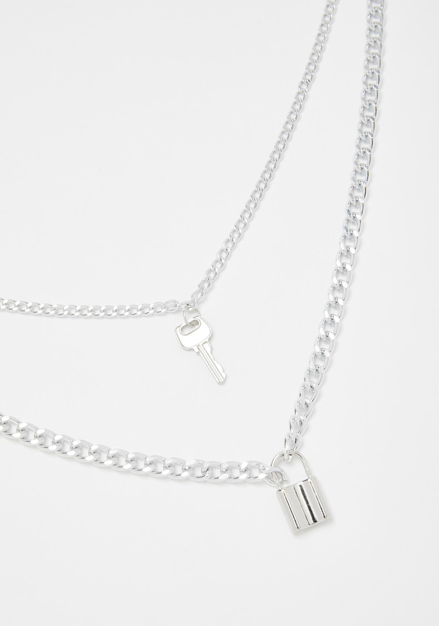 Locked N' Loaded Charm Necklace
