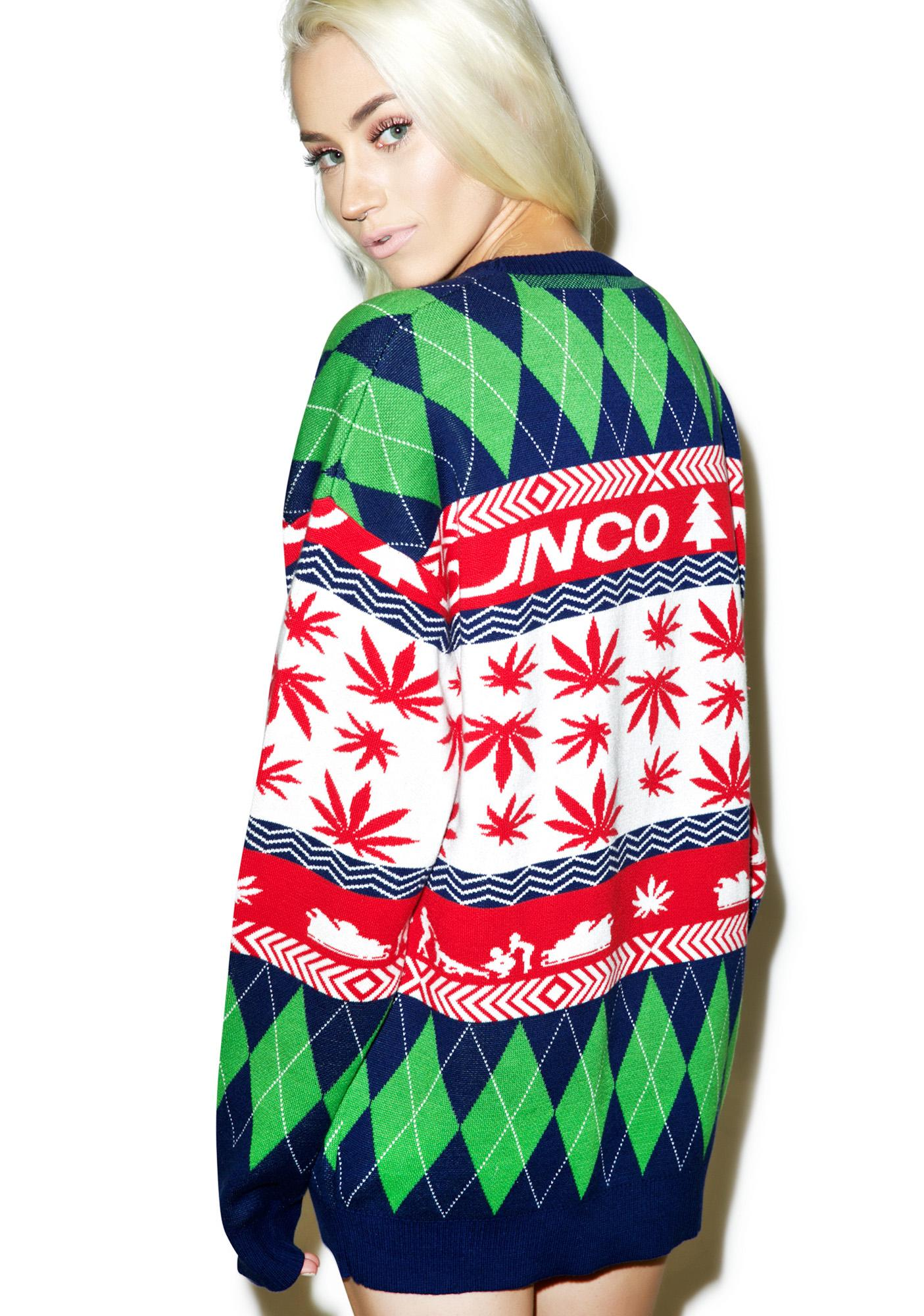 JNCO FOUR20 Ugly Christmas Sweater