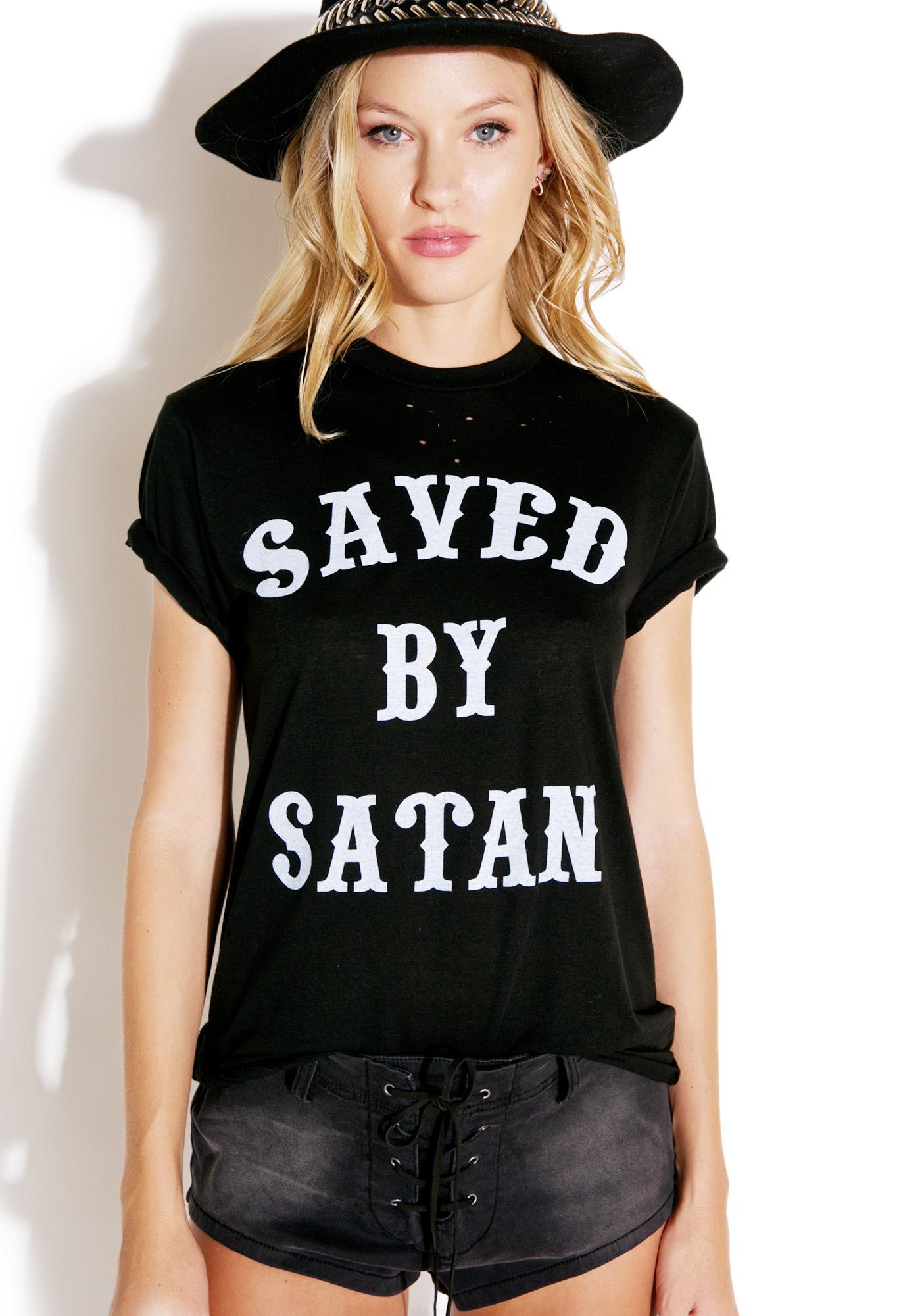 Local Boogeyman Saved By Satan Tee