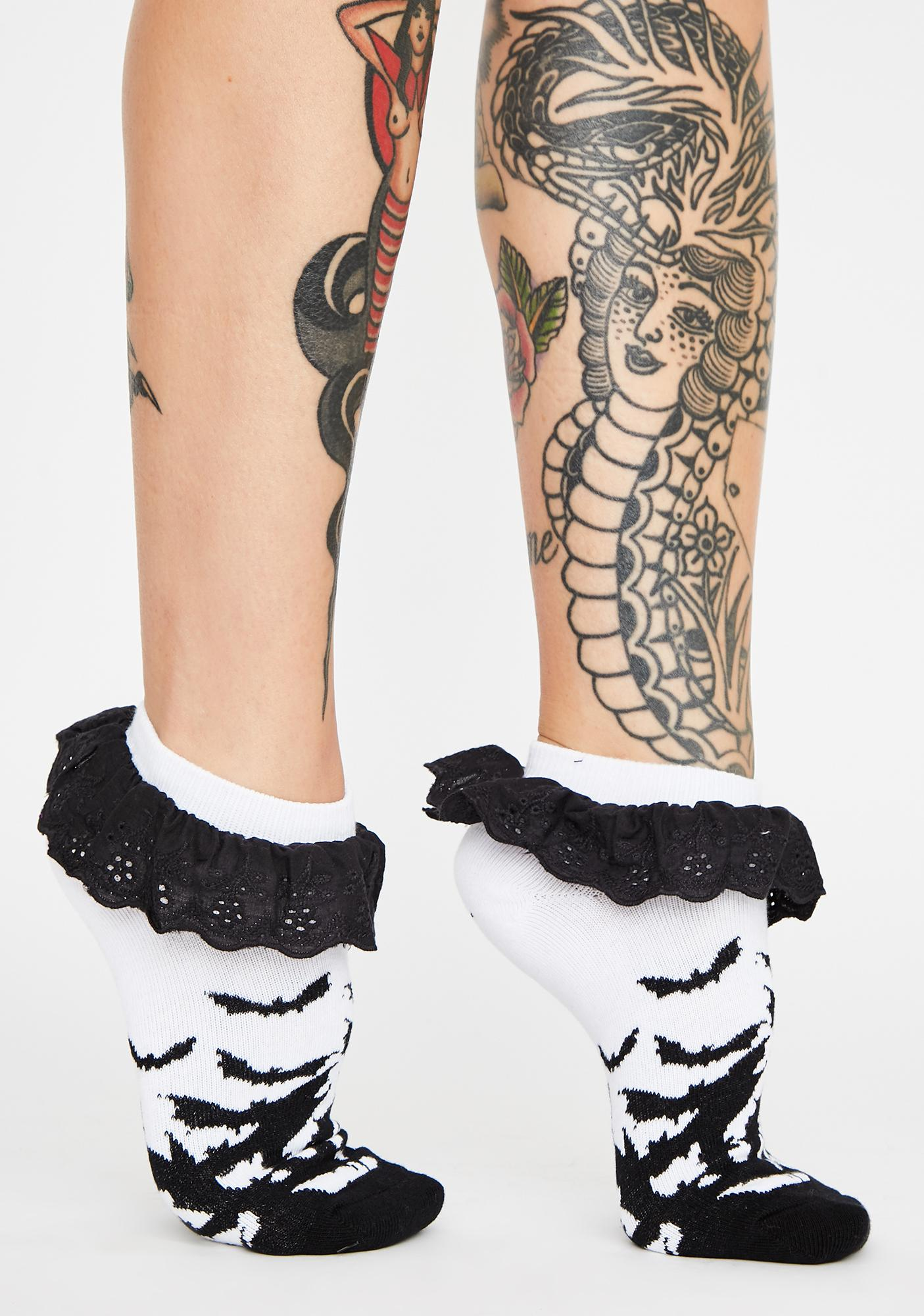 Too Fast Fly Me To The Moon Socks