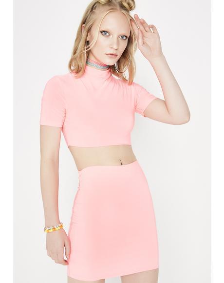 Shine On Skirt Set