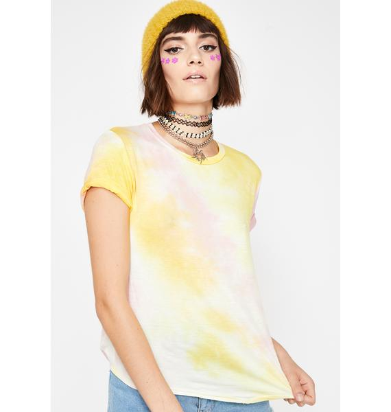 Hipster Fever Tie Dye Tee