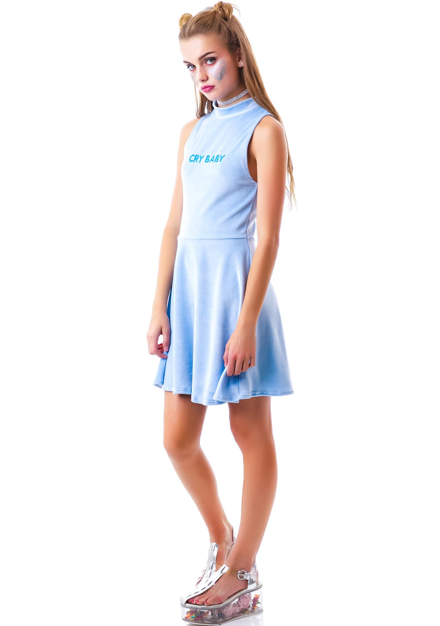 United Couture Cry Baby Velvet Sugar Dress