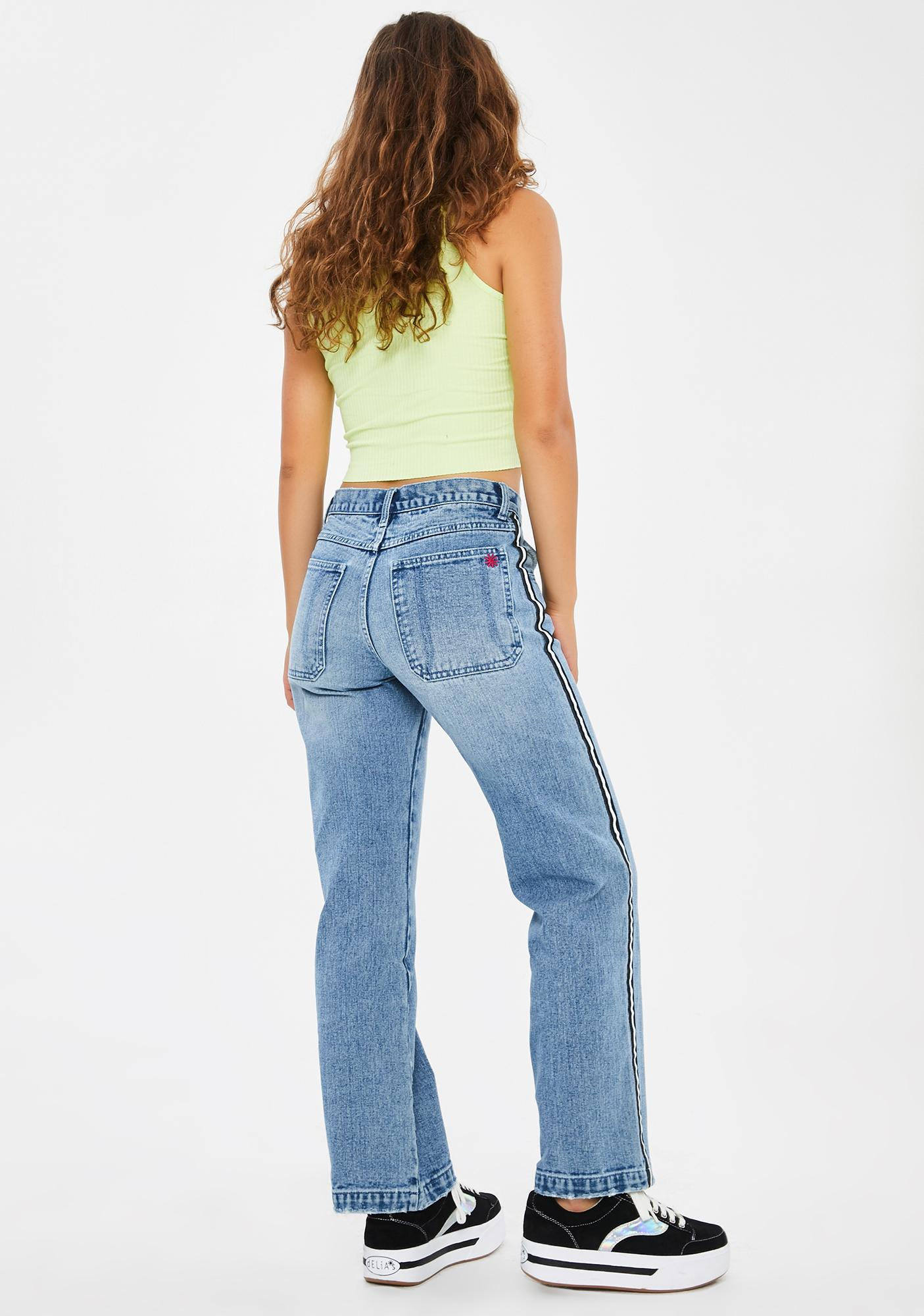 dELiA*s by Dolls Kill 90's Fever Wide Leg Jeans