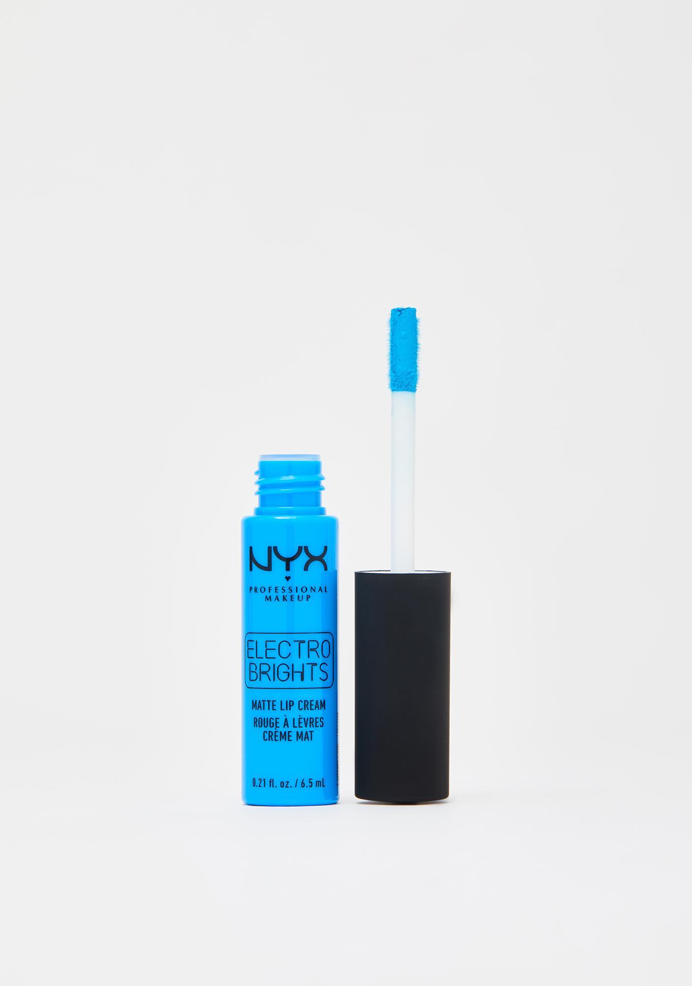 Tulum Electro Brights Matte Lip Cream by Nyx Professional Makeup