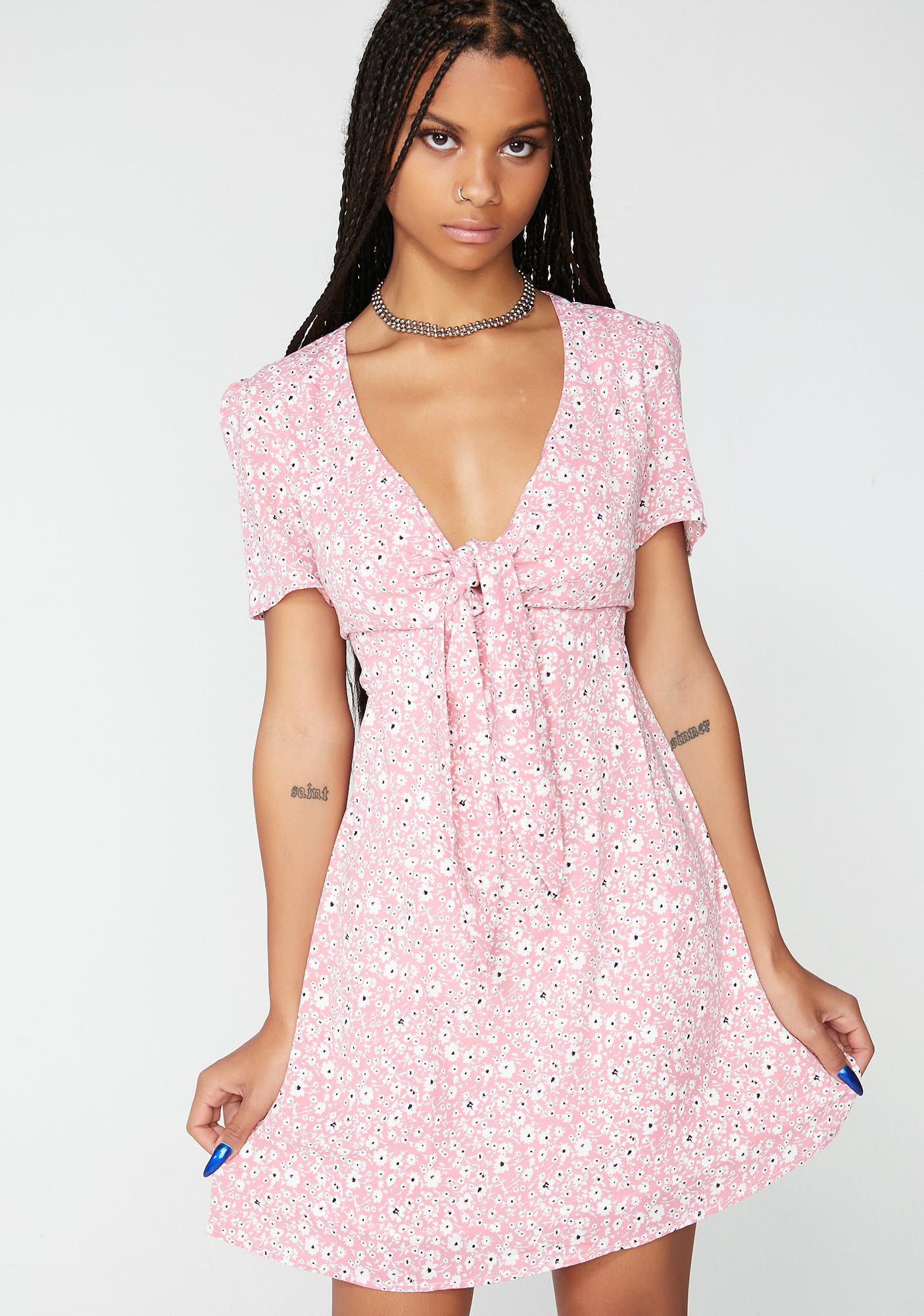 Glamorous Delilah Daisy Floral Dress