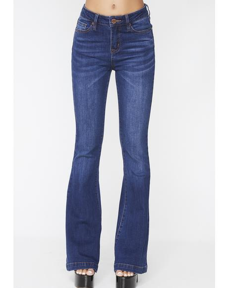 Boss Appeal Denim Flares