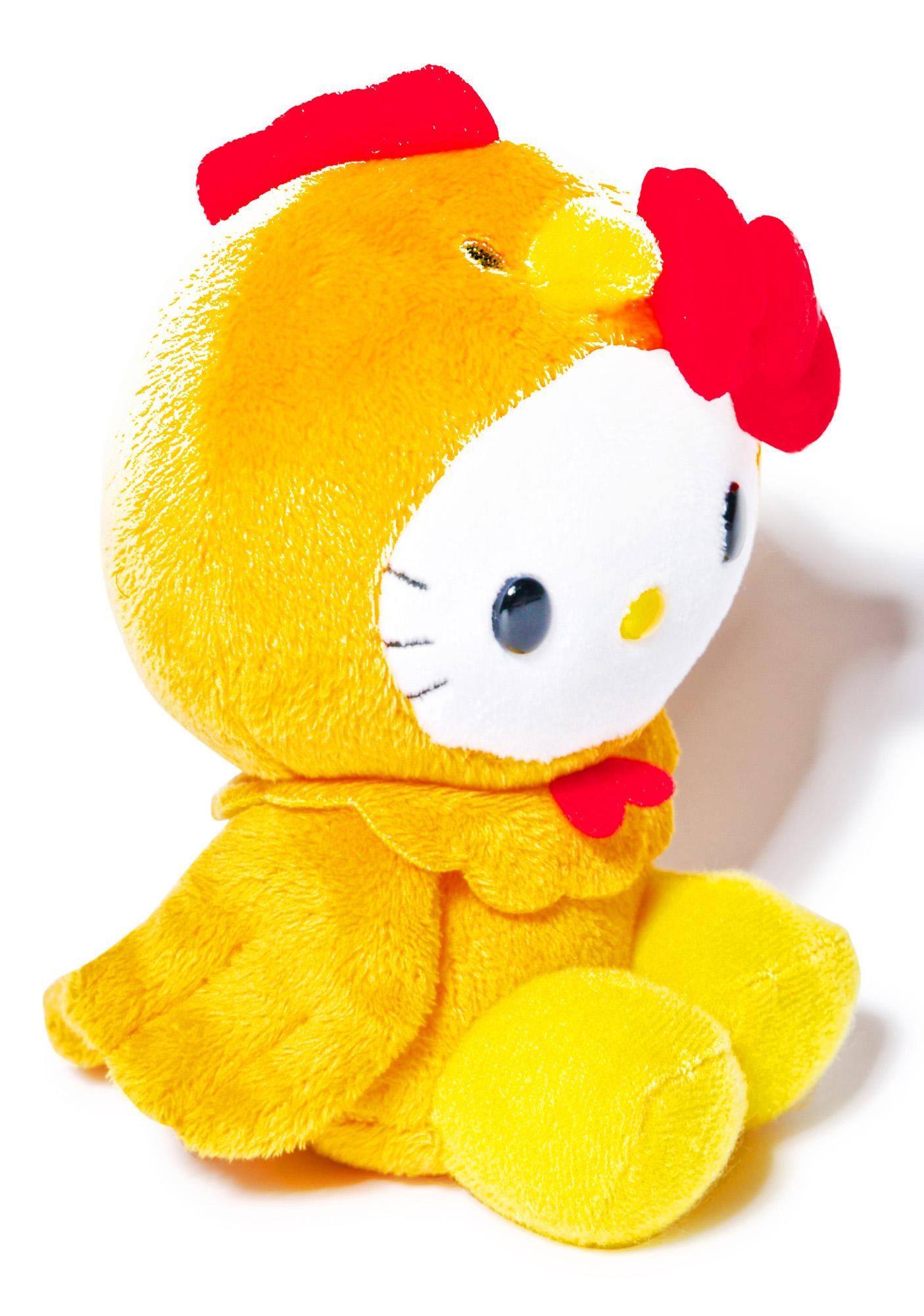Sanrio Farm Friends Hello Kitty Chicken Plush