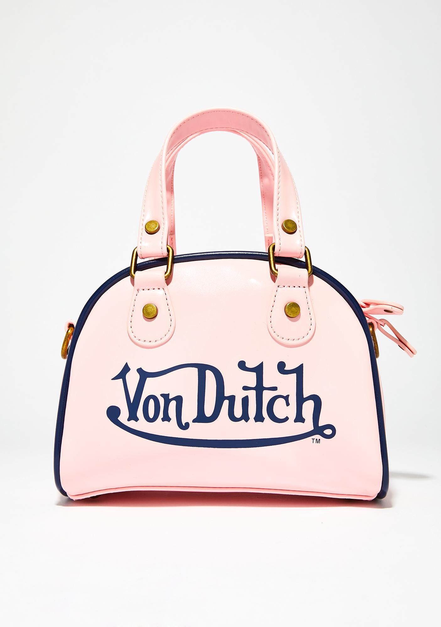 Von Dutch Sweet Small Bowling Bag Dolls Kill Doctor Handbag