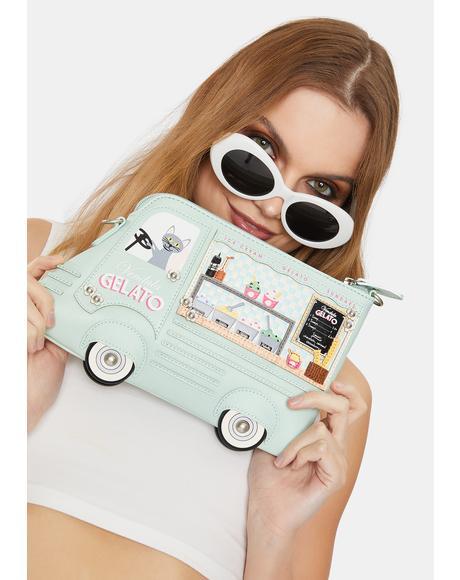 Gelato Truck Pouch Bag
