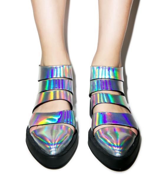 Y.R.U. Hologram Katana Booties