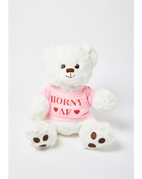 Horny AF Bear Stuffed Toy